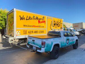 Auto Wraps, Car Wraps, Vehicle Wraps, Truck Wraps, Van Wraps, SEMI Numbers, Truck Lettering, Van Graphics by Sand Diego Sign & Design Shop Yeahgor